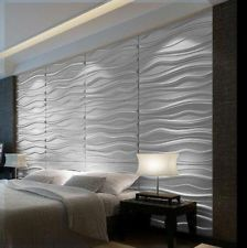 Decorative Wall Tile Panels Waves Gallery  3D Wall Panels Salon Ideas And 3D Wall