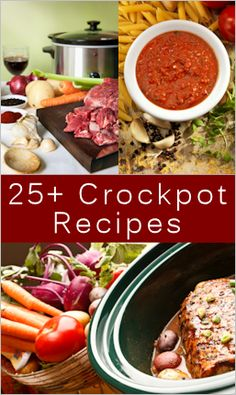 25+ Tempting Crockpot Meals To Make: {Recipes} : TipNut.com
