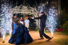 Stylish resort wedding of a Telugu bride and a Tambram groom! Telugu Brides, Telugu Wedding, Punjabi Wedding, Wedding Prep, Wedding Story, Farm Wedding, Boho Wedding, Wedding Reception, South Indian Weddings