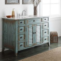 "47.5"" Abbeville Sink vanity- Cottage look #Bathroom #Furniture #vanities #2014"