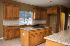 Kitchen remodel completed by Griffin Construction in Houston, Tx ...