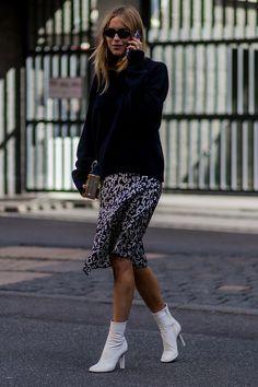 Preciosas ideas de look. Lo mejor de Street Style.