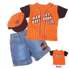 Harley-Davidson Baby and Children's Clothing and Accessories | I Love Harley Bikes