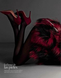 Anais Mali & Drake Burnette  by Santiago & Mauricio   Vogue Spain  August 2014