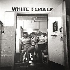 Women's Prison, New Orleans, 1963 (Photo by Leonard Freed) Post with 26 votes and 114 views. Women's Prison, New Orleans, 1963 (Photo by Leonard Freed) Iconic Photos, Old Photos, Leonard Freed, Francis Picabia, Interesting History, Vintage Pictures, Vintage Photography, Color Photography, Historical Photos