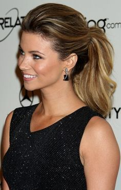 high ponytail hairstyles with quiff - Google Search