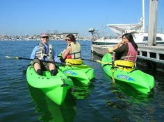 A Kayak And Cruise Around Long Beach Harbor