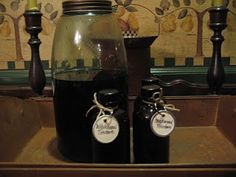 Herbal Medicine Chest #3 - Tinctures, Glycerites, Extracts and Infused Oils | ~ The Woodwife's Journal ~