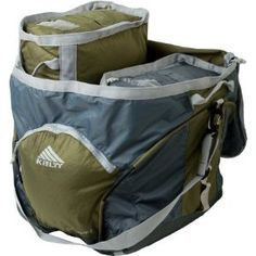 this is perfect to organize and load your car for your back country trip or car camping with the kids. Camping Organization, Organized Camping, Vines, Diaper Bag, Green, Bags, Country, Awesome, Handbags