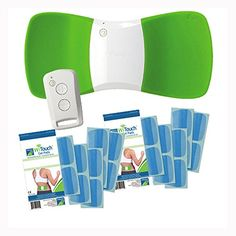 WiTouch Wireless TENS Unit Bonus Package w/ 20 (10 pair) Gel Pads Core Products amazon.com RELIEVES BACK PAIN