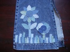@:  to sew with machine, jeans need to have seams ripped