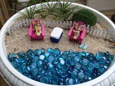 My Fairy Garden Beach Scene Beach Fairy Garden, Fairies Garden, Fairy  Gardens, Miniature