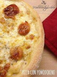 Pizza con pomodorini da pendola