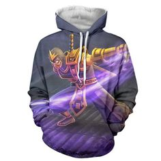 League of Legends Shen Attacking With Vorpal Blade Comfy Hoodie  #LeagueofLegends #Shen #Attacking #With #Vorpal #Blade #Comfy #Hoodie