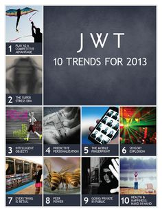 2013 and beyond by JWT.