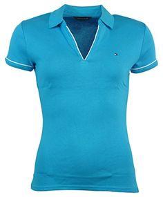 Tommy Hilfiger Womens Buttonless Logo Polo Shirt - S - Blue Tommy Hilfiger http://www.amazon.com/dp/B00XWRVE6M/ref=cm_sw_r_pi_dp_bXBWvb1K5HN7G