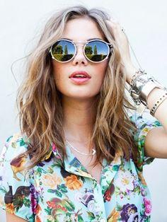 mid-length waves #hair