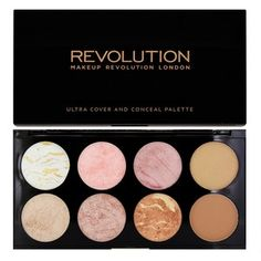 Highlighting on a budget - starting out - Makeup Revolution Blush Palette Golden Sugar 149g - Makeup Revolution - Blusher at Superdrug