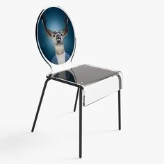 This is a 3D model of Cerf Chair