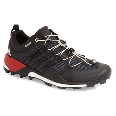 adidas 'Terrex Skychaser' Trail Running Shoe (7,400 PHP) ❤ liked on Polyvore featuring men's fashion, men's shoes, men's athletic shoes, mens athletic shoes, adidas mens shoes, mens running shoes, mens shoes and mens lightweight running shoes