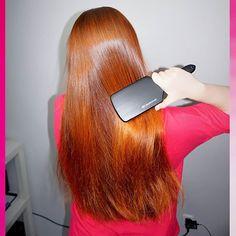 wwwlosy.pl @napieknewlosy Bardzo się czeszę...Instagram photo   Websta (Webstagram) Red Hair, Blonde Hair, Paul Mitchell, Blondies, Straight Hairstyles, Henna, Long Hair Styles, Pretty, Instagram Posts