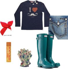 """""""From Barn to Garden"""" by desiree72180 on Polyvore"""