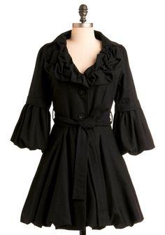 Drama Coach Coat | Mod Retro Vintage Coats | ModCloth.com - StyleSays