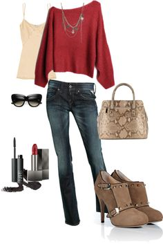 """red"" by alicia0014 on Polyvore"
