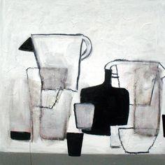 2 beakers#36x36#art#still life#poukeHalpern Still Life Drawing, Still Life Art, Art Lesson Plans, Hanging Art, Be Still, Light Colors, Food Art, Art Lessons, Contemporary Art