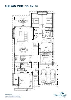 The San Vito floorplan