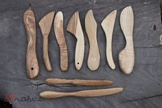 Handcrafted butter knifes