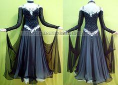 cheap ballroom dancing clothes,sexy ballroom competition dance garment:BD-SG1191