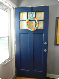 Wonderfully Made Pursuits: Painted front door