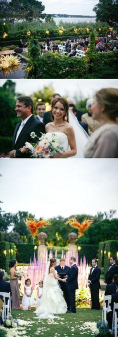 Dallas Arboretum, wedding, Garden Wedding, Bride, In bloom, Chihuly