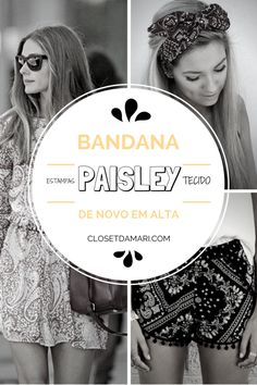 BANDANA ou Paisley