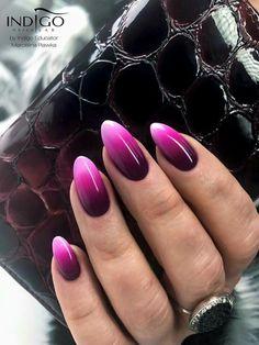 take a look at The Top 30 Trending Nail Art Designs Of All Season. – Marta Neamtu take a look at The Top 30 Trending Nail Art Designs Of All Season. take a look at The Top 30 Trending Nail Art Designs Of All Season. Fabulous Nails, Perfect Nails, Gorgeous Nails, Gradient Nails, Purple Nails, Acrylic Nails, Glitter Nails, Indigo Nails, Popular Nail Art