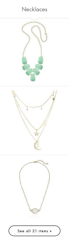 """""""Necklaces"""" by modest-is-best ❤ liked on Polyvore featuring jewelry, necklaces, mint magne, mint green jewelry, kendra scott necklace, mint statement necklace, bib statement necklace, 14k necklace, gold and star charm necklace"""