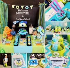 Would be.cute.Setup for.Monster university party