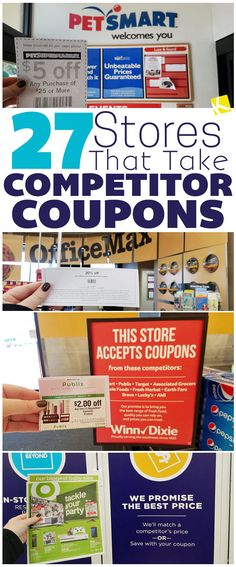 27 Stores That Take Competitor Coupons