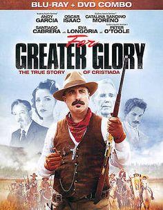 For Greater Glory (Blu-ray Disc, 2012) Andy Garcia, Peter O'Toole, Eva Longoria