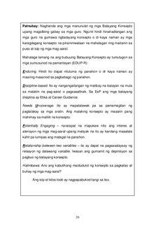 DepEd K to 12 Program Edukasyon sa Pagpapakatao Grade 8 Teacher's Guide Teacher's Guide, Words, Horse