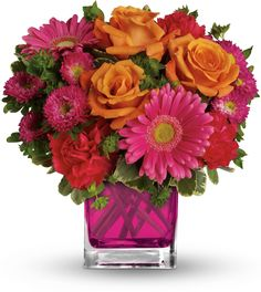 Telefloras Turn Up The Pink Bouquet