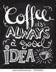 Bildergebnis für kaffee hand lettering