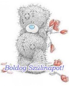 boldog születésnapot - Google Search Diy And Crafts, Arts And Crafts, Blue Nose Friends, Tatty Teddy, Bear Cubs, Cute Bears, Polar Bear, Snowman, Decoupage