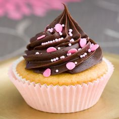 Cupcake z choco-kremem (zestaw)