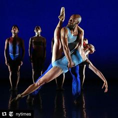 #Repost @nytimes  @balletx_philadelphia  the smaller younger and far more experimental of Philadelphias 2 main #ballet troupes  is performing a program of 3 works at New Yorks @thejoycetheater this week. The @nytimes dance critic Alastair Macaulay praises the company for its highly individual dancers in his review of their performance. Its easy to miss how meticulous they are in style  but impossible not to recognize their richness and immediacy he writes. The @nytimes dance photographer…