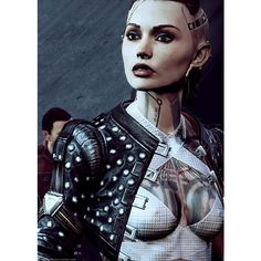Jack Mass Effect ❤ liked on Polyvore featuring effect