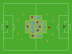 Soccer Gifs, Diagonal, Sports Page, Football Drills, Coaching, Tech, Soccer Drills, Football Soccer, Training