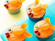 Fish cupcakes