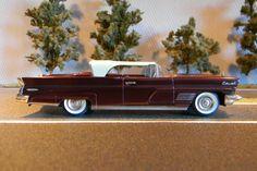 Voitures américaines 1/43: Lincoln Continental Mark V 1960 Brooklin Models BRK 57 X (edition spéciale)